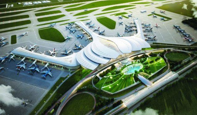 Hoa sen, thác nước là điểm nhấn nổi bật trong sân bay Long Thành - 2