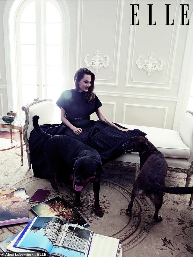 """Angelina Jolie muốn có thật nhiều """"phụ nữ tinh quái"""" trên thế giới - 1"""