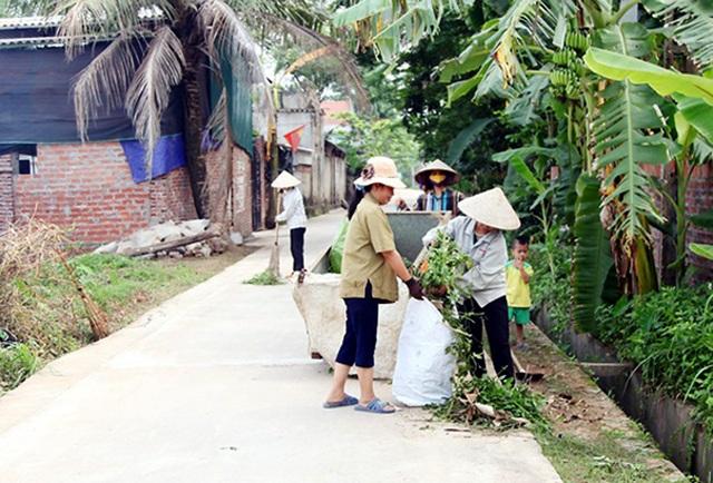 Bước đột phá cải thiện môi trường nông thôn ở Vĩnh Phúc - 1