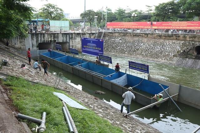Chuyên gia Nhật Bản sẽ tắm trong khu thí điểm làm sạch sông Tô Lịch - 1