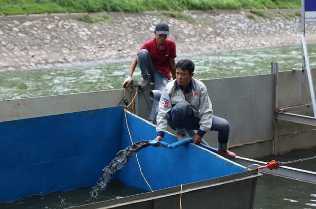 Chuyên gia Nhật Bản sẽ tắm trong khu thí điểm làm sạch sông Tô Lịch - 5