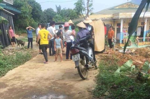 Nam thanh niên bị điện giật tử vong khi xây trường mầm non - 1
