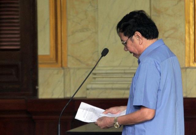 """Nguyên """"bộ sậu"""" lãnh đạo Tập đoàn Cao su Việt Nam lãnh án - 1"""