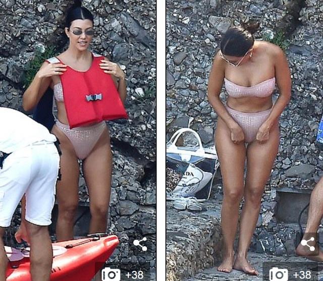Ngưỡng mộ dáng săn chắc của Kourtney Kardashian - 5
