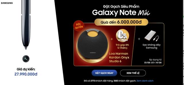 Nhiều nhà bán lẻ Việt nhận đặt trước Galaxy Note 10 với giá 28 triệu đồng - 1