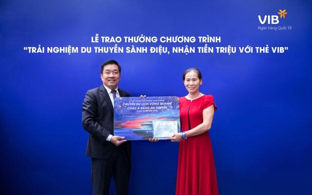 Đã có 2 chủ thẻ tín dụng VIB trúng cặp vé du lịch châu Á bằng du thuyền - 1