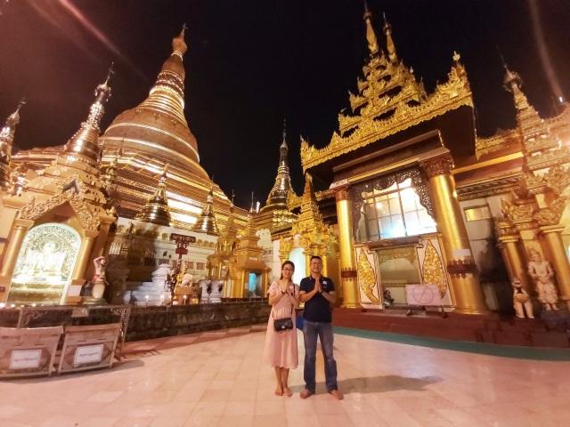 Độc đáo ngôi chùa dát 90 tấn vàng, gắn nghìn viên kim cương đắt giá ở Myanmar - 2