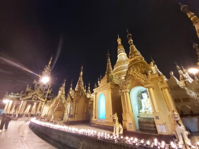 Độc đáo ngôi chùa dát 90 tấn vàng, gắn nghìn viên kim cương đắt giá ở Myanmar - 6
