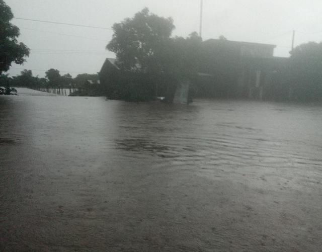 Đắk Lắk mênh mông nước ngập sau nhiều giờ mưa lớn - 1