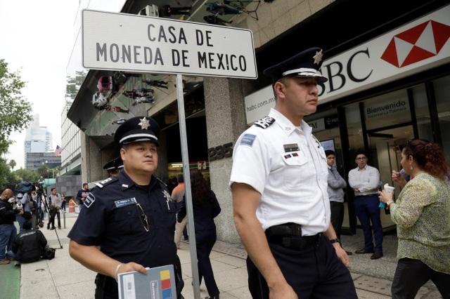 Hơn 2,5 triệu USD tiền vàng của chính phủ Mexico bị cướp - 1