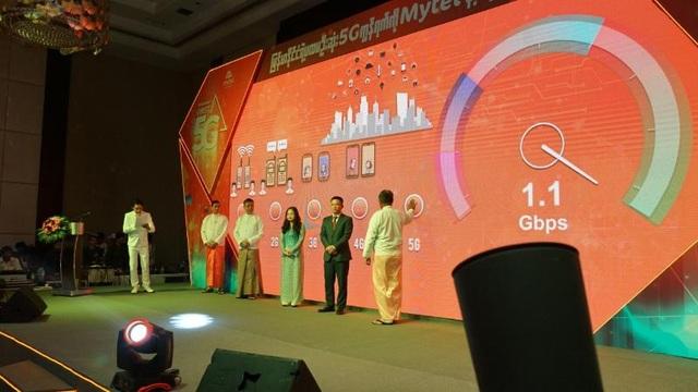 Viettel là nhà mạng đầu tiên ra mắt công nghệ 5G tại Myanmar - 1