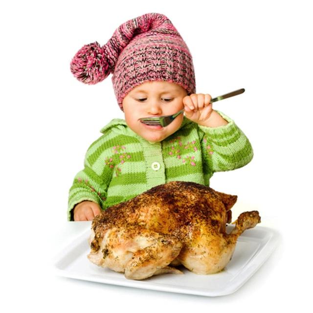 Những lưu ý cần thiết khi cho con ăn thịt gà - 1
