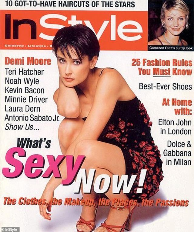Demi Moore hồi sinh sau 3 cuộc hôn nhân thất bại ở tuổi 56 - 4