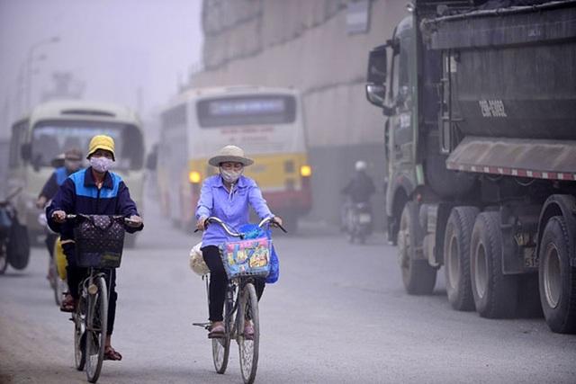 Hiểm họa khôn lường từ việc sống chung với ô nhiễm không khí - 1