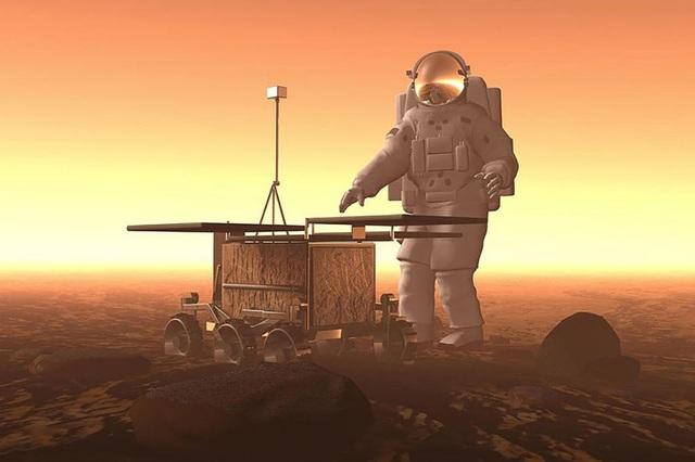 Các phi hành gia lên sao Hỏa có thể bị mất trí nhớ - 1