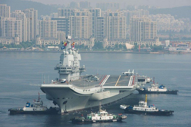 Tàu sân bay Trung Quốc chưa ra mắt lại gặp sự cố kỹ thuật - 1
