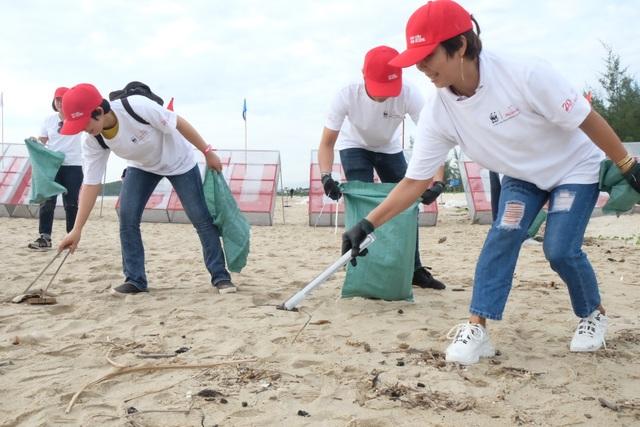 """Hơn 800 tình nguyện viên cùng """"Giải cứu đại dương"""" ở Đà Nẵng - 4"""