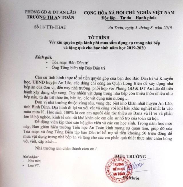 Công an quận Long Biên, bạn đọc Dân trí xây bếp ăn tặng thầy cô giáo gieo chữ vùng cao - 4