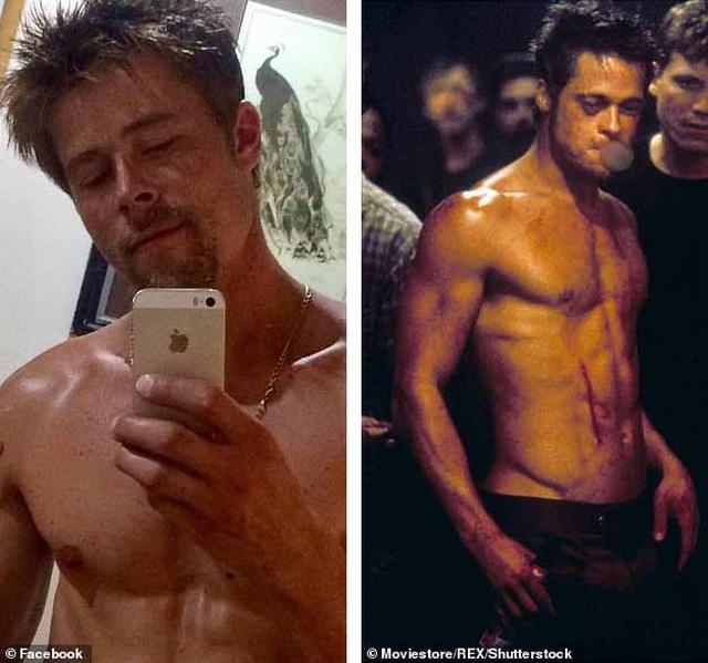 Người đàn ông than bất hạnh vì diện mạo quá giống Brad Pitt - 2