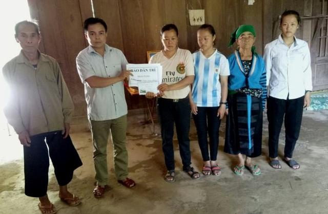 Báo Dân trí hỗ trợ nóng gia đình trưởng Công an xã hy sinh - 5