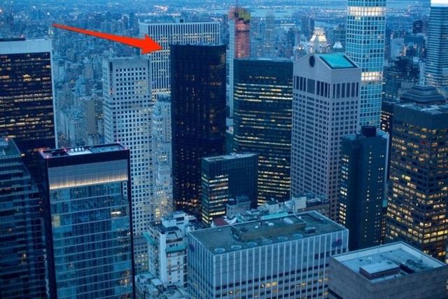 Tháp Trump là một phần của đường chân trời tại Manhattan, ảnh chụp năm 2017.