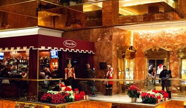 Một trong những tầng mà du khách có thể tham quan tại Tháp Trump