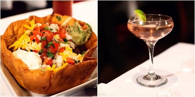 Bát taco tại Trump Grill và ly cocktail gần 20 đô la Mỹ