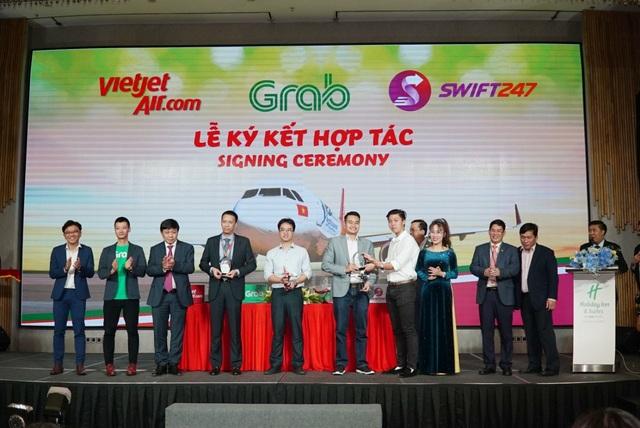 Vietjet, Swift247 và Grab hợp tác toàn diện nhằm phát triển các giải pháp kết nối di chuyển và giao nhận - 2