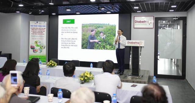 Công bố 2 hoạt chất mới giúp hạ đường huyết mạnh trong Dây thìa canh Việt Nam - 1