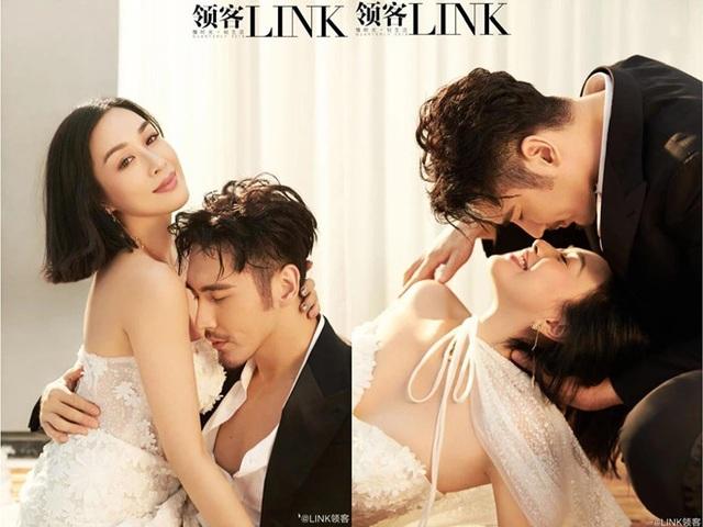 Khoảnh khắc ngọt ngào và tình tứ của Chung Lệ Đề bên chồng trẻ - 1