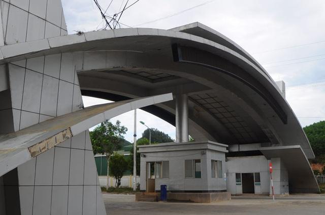 Cận cảnh những công trình trăm tỷ lãng phí ở Khu kinh tế Cửa khẩu quốc tế Cầu Treo - 11