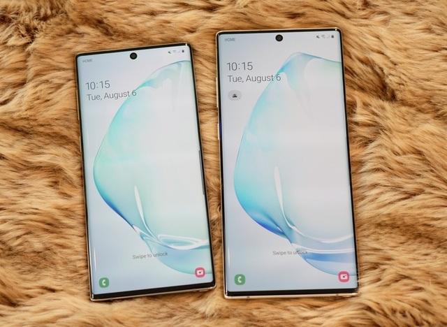 """Đọ cấu hình Galaxy Note10 cùng loạt smartphone """"bom tấn"""" trên thị trường - 1"""