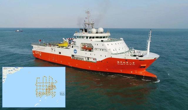 Trung Quốc rút nhóm tàu Hải Dương 8 khỏi bãi Tư Chính - 2