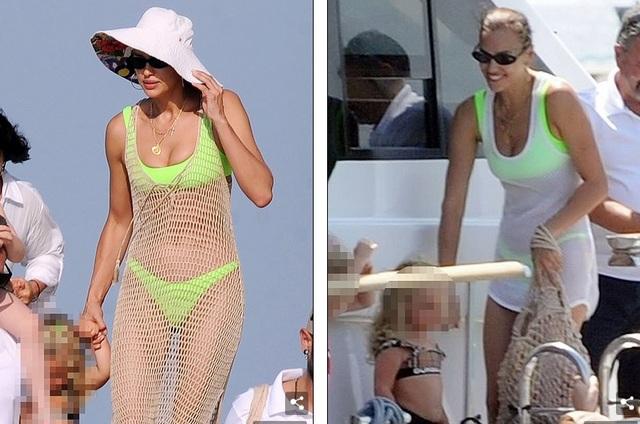 Irina Shayk cùng mẹ và con gái đi nghỉ mát ở Ibiza - 4
