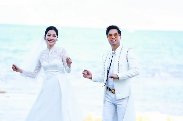 """Ngọc Sơn tiết lộ về bộ ảnh cưới kỳ lạ cùng danh tính """"cô dâu bí ẩn"""" - 3"""