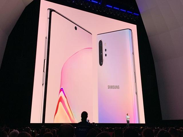 Samsung trình làng Galaxy Note10 với 2 phiên bản khác nhau - Ảnh minh hoạ 13
