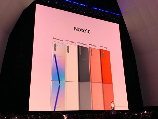 Samsung trình làng Galaxy Note10 với 2 phiên bản khác nhau - Ảnh minh hoạ 20