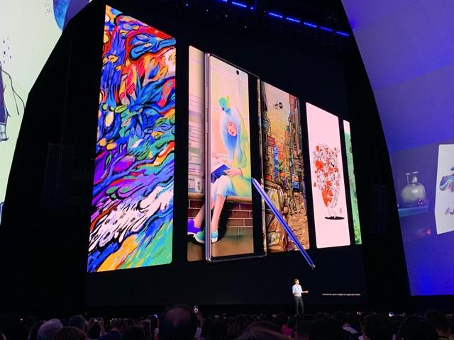 Samsung trình làng Galaxy Note10 với 2 phiên bản khác nhau - Ảnh minh hoạ 12