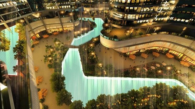 """""""Viên kim cương"""" bên sông Sài Gòn Sunshine Diamond River chuẩn bị ra mắt - 3"""