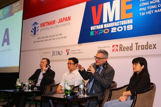 Triển lãmVME 2019:Đưa DN Việt vào chuỗi cung ứng toàn cầu - 4
