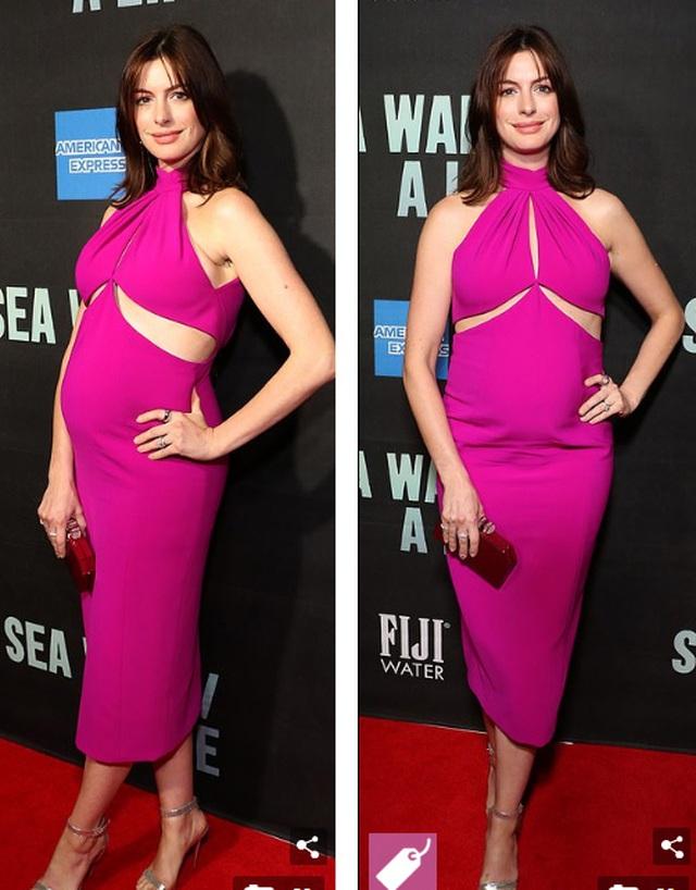 Anne Hathaway xinh đẹp bế bụng bầu đi xem kịch - 7