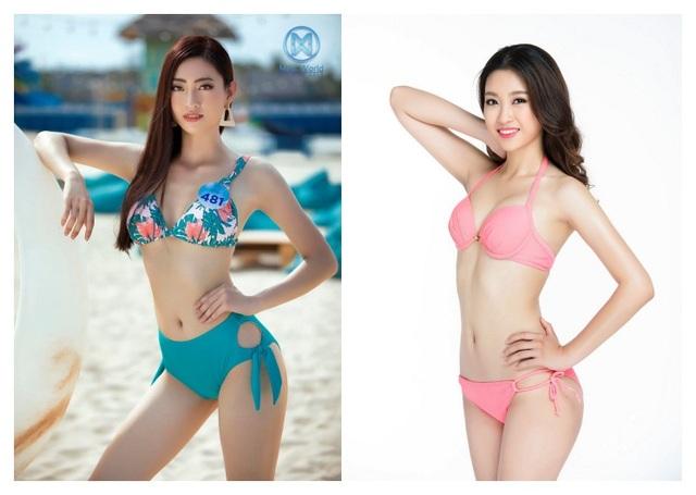So nhan sắc mặt mộc của Hoa hậu Đỗ Mỹ Linh và Lương Thuỳ Linh - 2