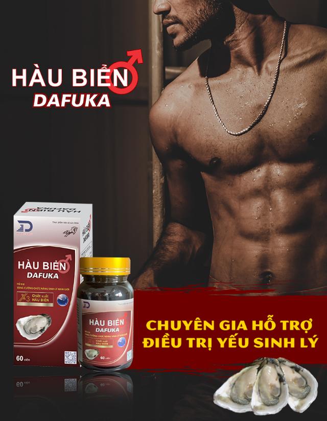 TPBVSK Hàu biển Dafuka – Hỗ trợ điều trị hiệu quả yếu sinh lý nam giới - 1
