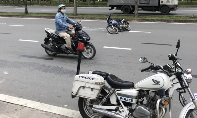 Vụ tông trọng thương Thiếu tá CSGT: Người đi xe máy có nồng độ cồn rất cao - 3