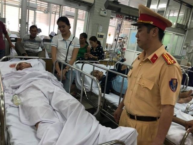 Vụ tông trọng thương Thiếu tá CSGT: Người đi xe máy có nồng độ cồn rất cao - 1