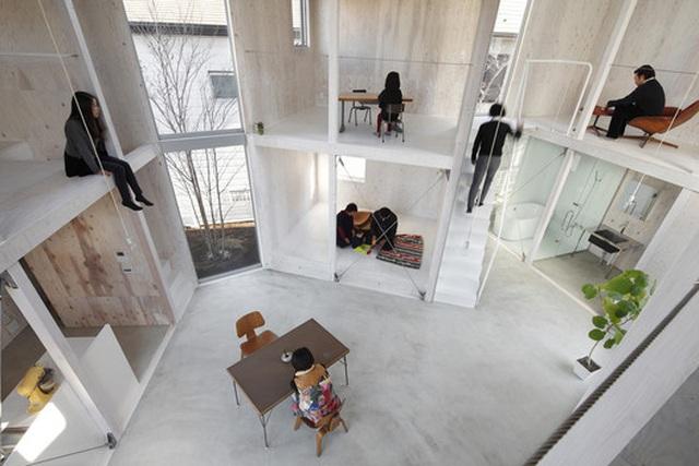 """Không gian sống tuyệt đẹp tái định nghĩa """"kiến trúc container"""" của người Nhật - 5"""