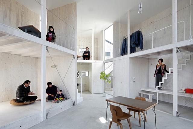 """Không gian sống tuyệt đẹp tái định nghĩa """"kiến trúc container"""" của người Nhật - 4"""