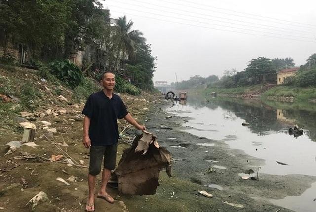 Vì sao lưu vực sông Nhuệ - Đáy ô nhiễm nghiêm trọng? - 1