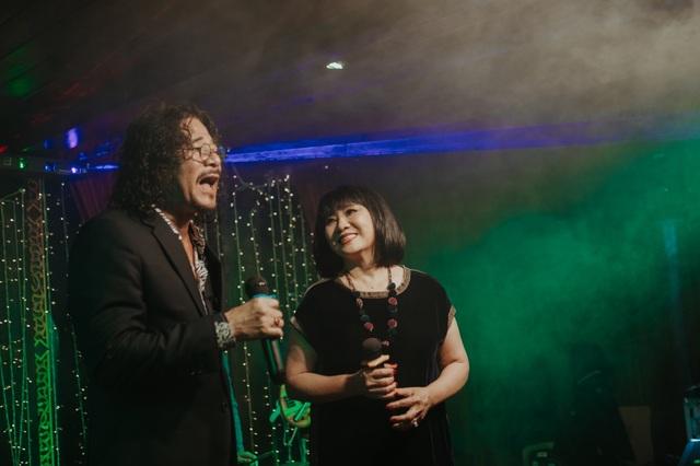 Vợ chồng Cẩm Vân - Khắc Triệu, Lệ Quyên mừng sinh nhật tuổi 43 của Quang Dũng - 6