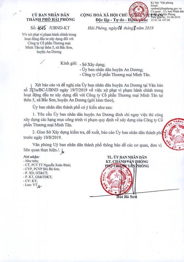 Vụ sập giàn giáo ở Hải Phòng: Công trình trái phép từng nhiều lần bị xử phạt - 4